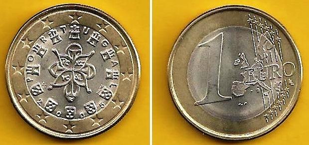 Portugal 1 Euro Eurofischer